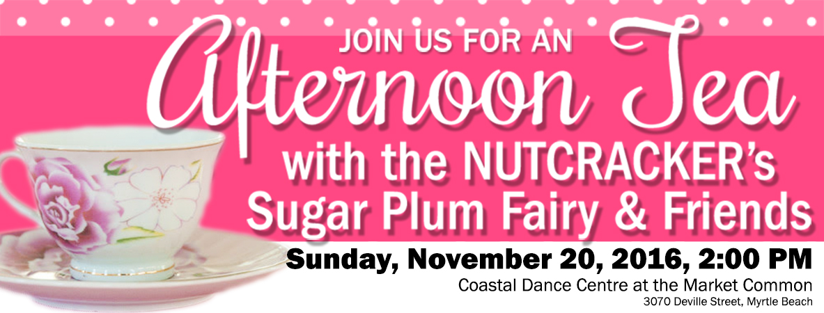 An Afternoon Tea With Sugar Plum Fairy